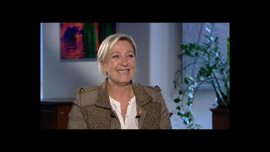 Video Le Penová v Událostech, komentářích
