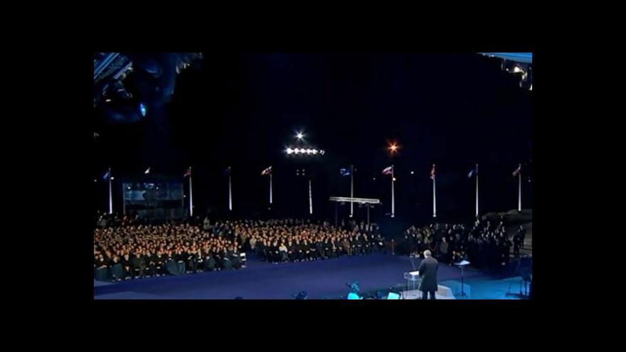 Video Evropští politici si na Westerplatte připomněli konec války