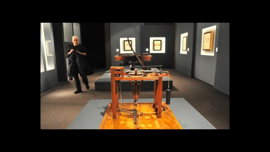 Video V Miláně je k vidění 120 děl Leonarda da Vinciho