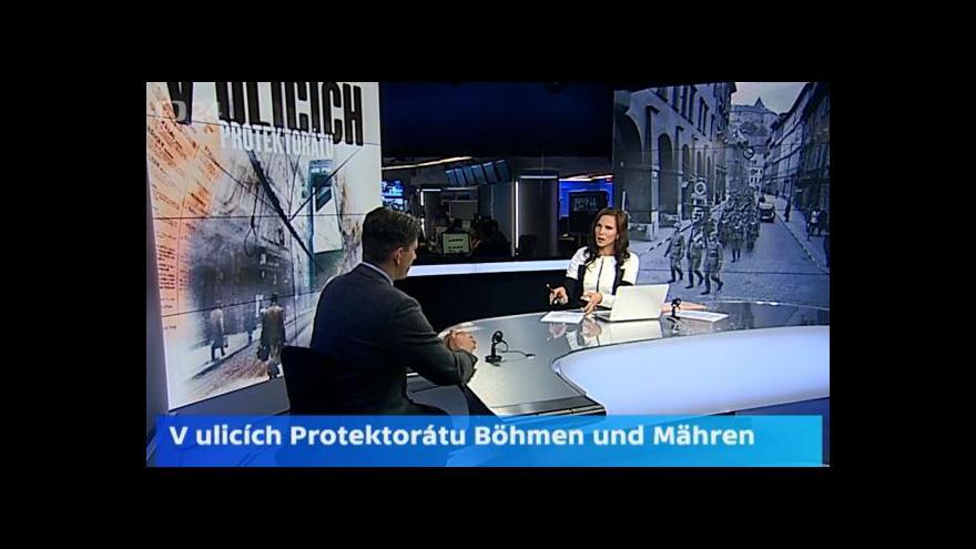 Video Spoluautor výstavy: Protektorátní ulice má navodit dobový zážitek