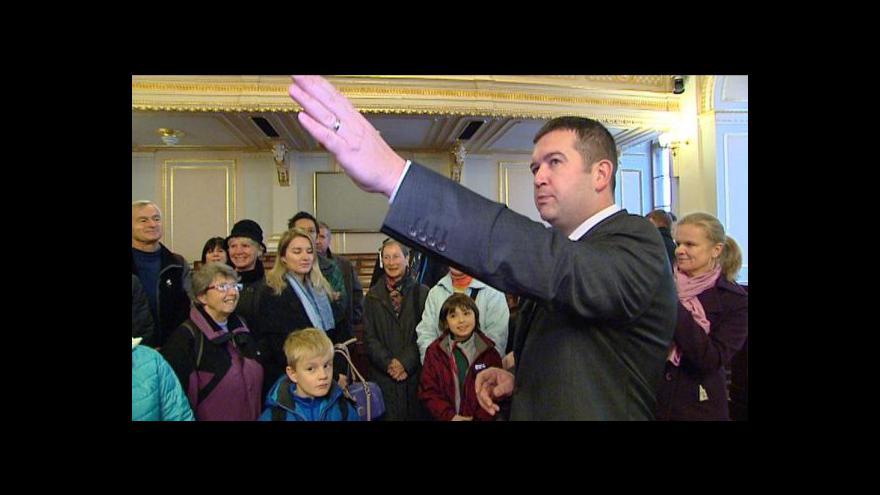 Video Den otevřených dveří v Parlamentu ČR