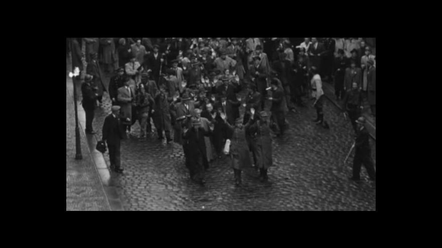 Video Z Bitvy o rozhlas: Němečtí civilisté (zdroj: ČRo)