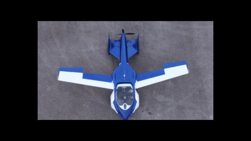 Video Události: Při testovacím letu havarovalo slovenské létající auto