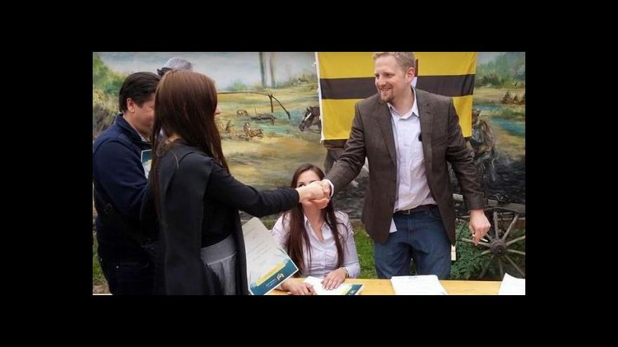 Video Samozvaný prezident Liberlandu Jedlička strávil v cele 18 hodin