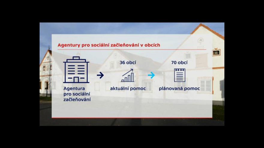Video Události: Agentura pro začleňování může začít s výpověďmi