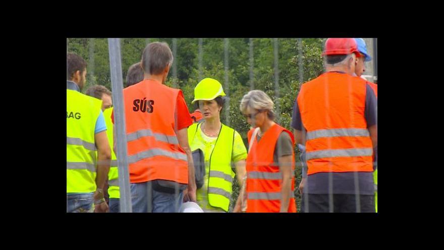 Video Vilémov: Byla porušena bezpečnost práce