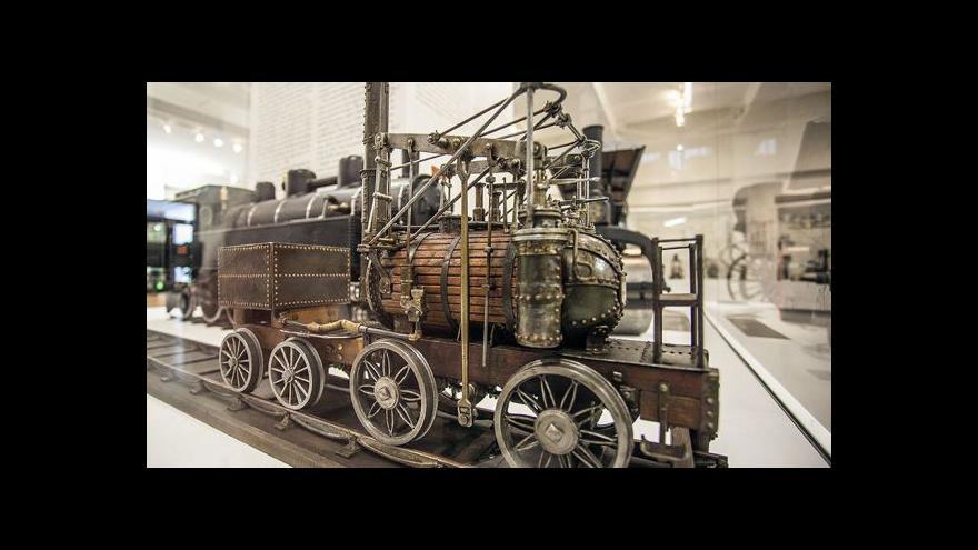 Video Století páry v Národním technickém muzeu