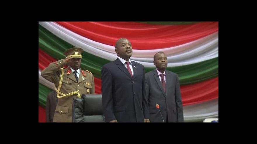 Video V Burundi to vře, část armády oznámila sesazení prezidenta
