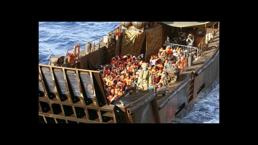 Video Události, komentáře: Evropské dilema s uprchlíky