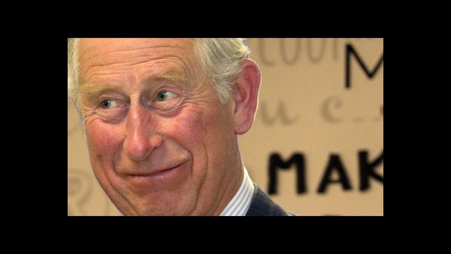 Video Británie zveřejnila Charlesovy dopisy vládě