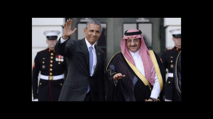 Video Saúdský král se vymluvil z cesty do Washingtonu