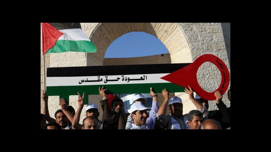 Video Szántó k 67. výročí vyhnání statisíců Palestinců