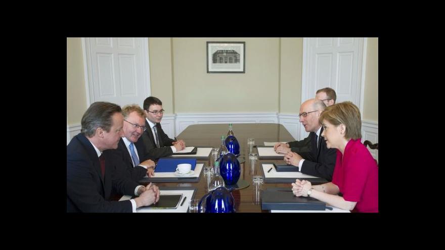 Video Cameron vs. Skotsko: Těžké hledání kompromisu