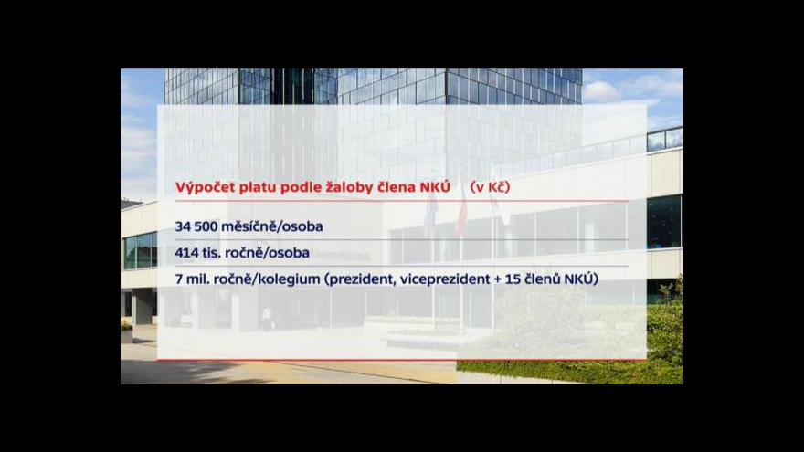 Video NKÚ chce žalobou vrátit rozhodování o platech do parlamentu