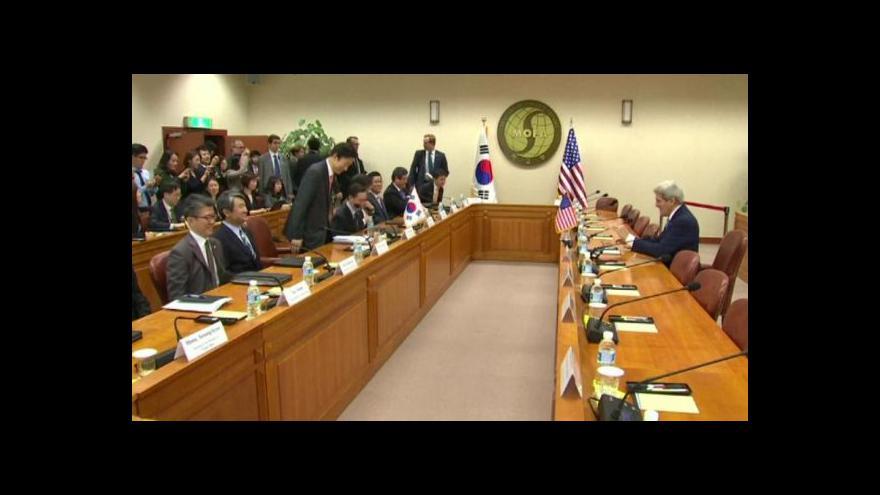Video Kerry: Severní Korea si nepřeje standardní vztahy