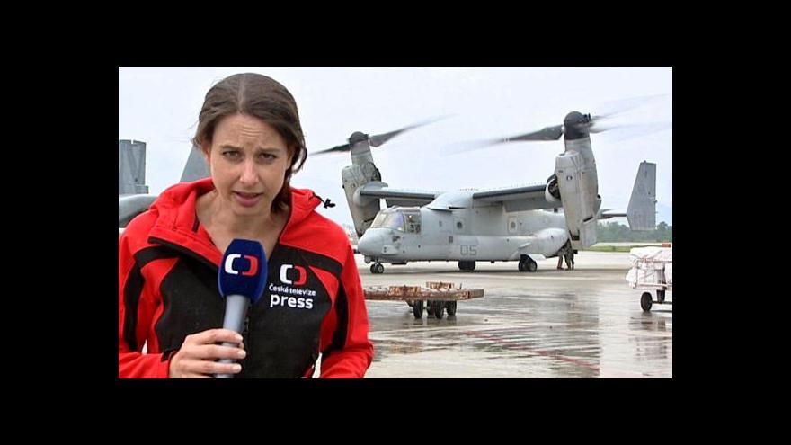 Video Zpravodajka ČT navštívila s traumatýmem Nepál