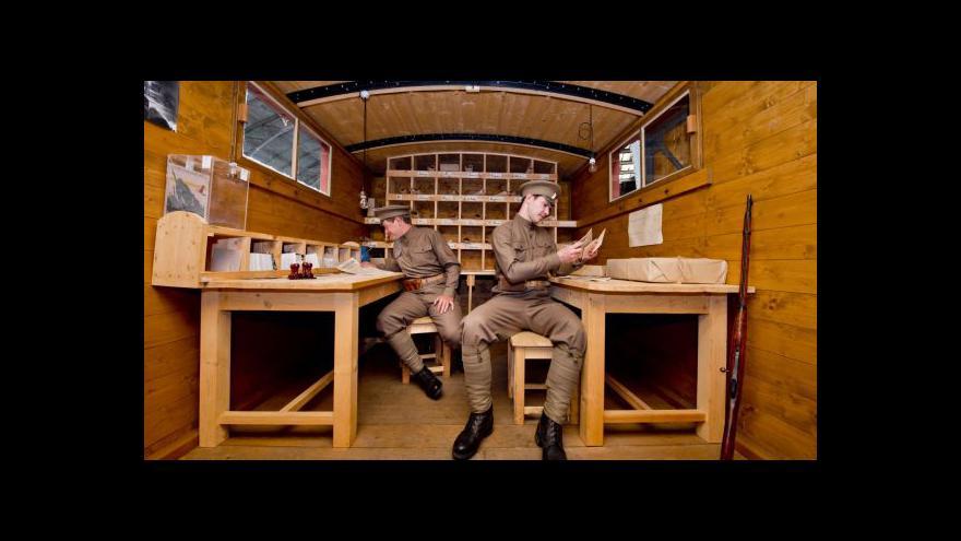 Video Replika Legiovlaku připomíná slávu někdejší soupravy