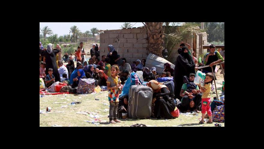Video Znovu dobýt Ramádí pomohu USA i šíité