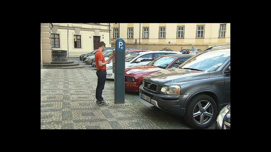 Video Parkovací zóny v Praze a Plzni
