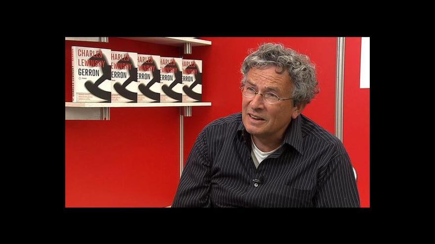 Video Charles Lewinsky představil román Gerron