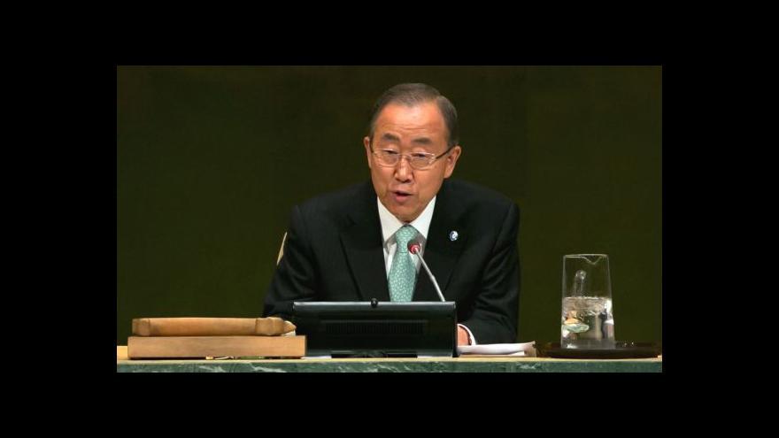 Video Pchjongjang si pozvání Pan Ki-muna rozmyslel