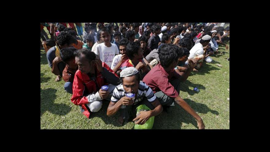 Video Thajsko odmítá uprchlické tábory na svém území