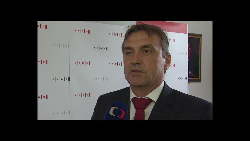 Video Komentář brněnského primátora k vyjádření lítosti nad odsunem Němců