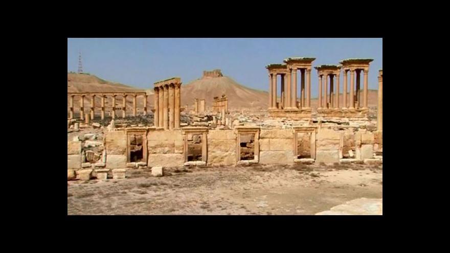 Video IS dobyl skoro celou Palmýru