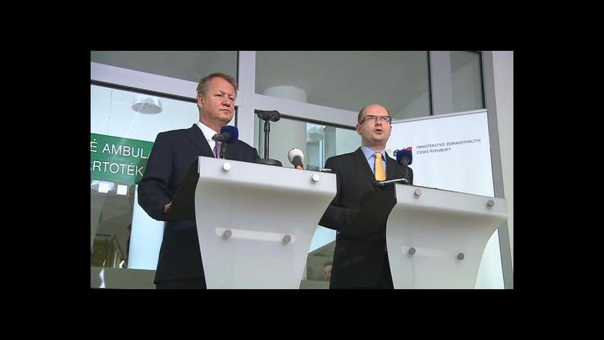 Video Sobotka: Rozpočet bez navýšení státních plateb pojištěnců schválíme těžko