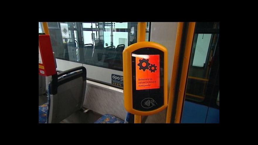 Video Ostravský dopravní podnik chystá nový systém odbavování