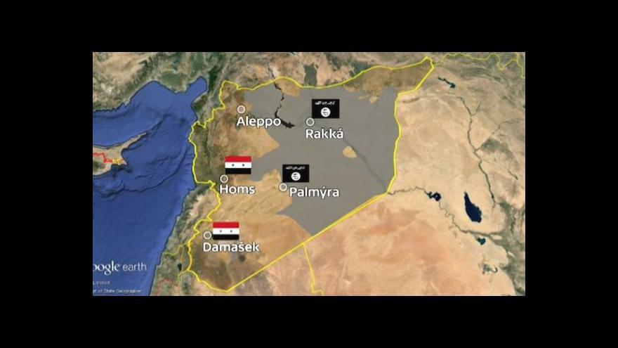 Video Hrizont: Islamisté dobyli Palmýru