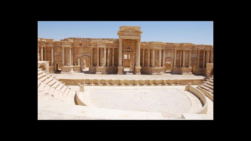 Video Petr Charvát o ohrožení antické Palmýry