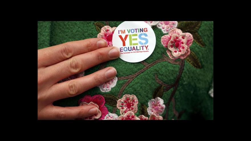 Video Irsko hlasuje o sňatcích homosexuálů