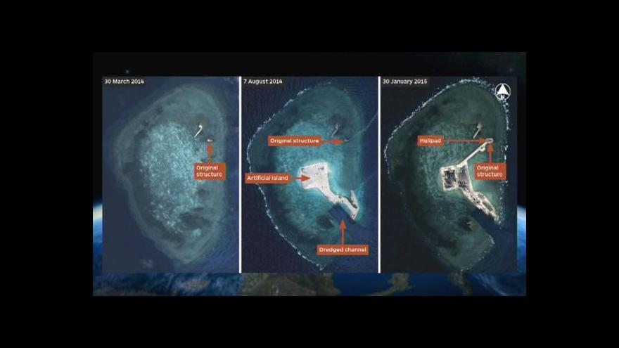 Video Čína tvrdě vykázala americké letadlo od Spratlyho ostrovů