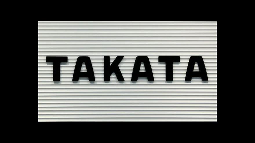 Video Nebezpečné airbagy firmy Takata