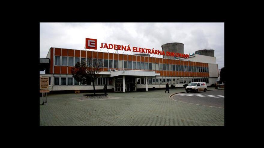 Video Babiš: Výstavbu nového bloku v Dukovanech by měl financovat ČEZ