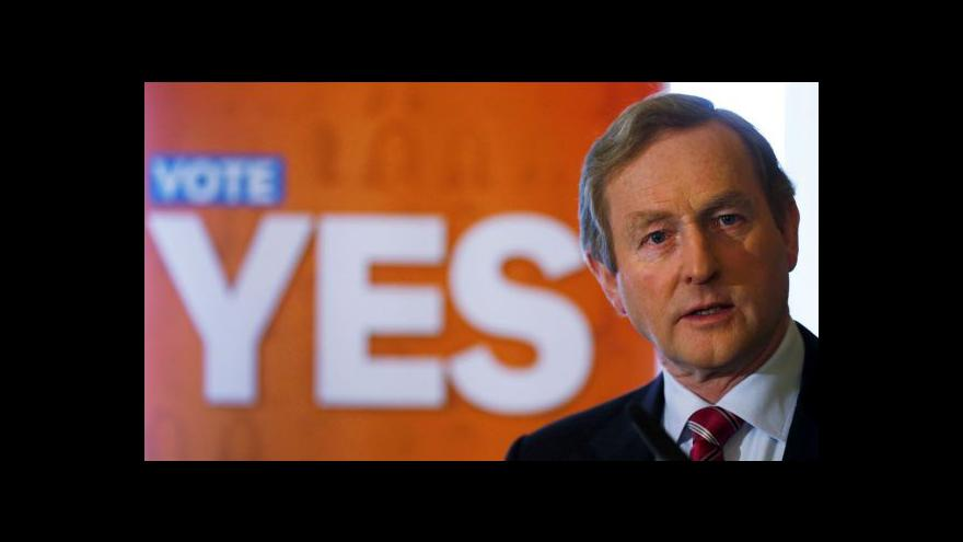 Video Irové podpořili sňatky homosexuálů