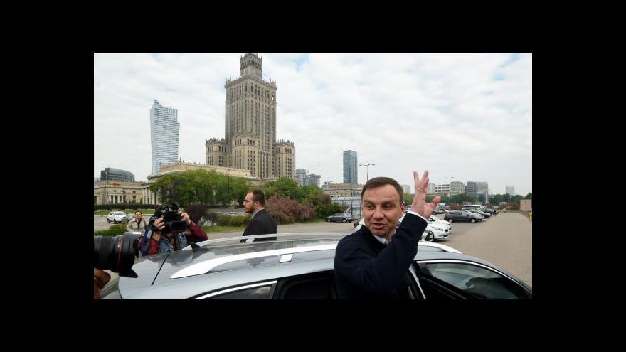 Video Duda je novým polským prezidentem