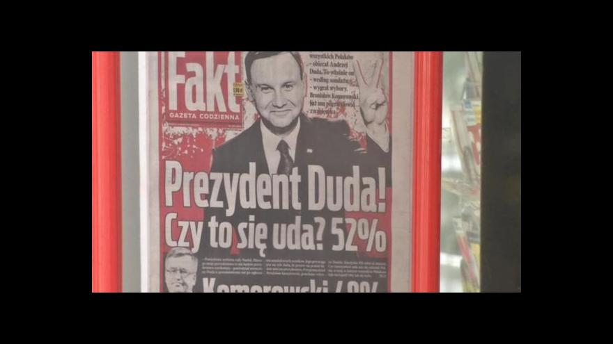 Video Andrzej Duda je novou politickou kometou Polska