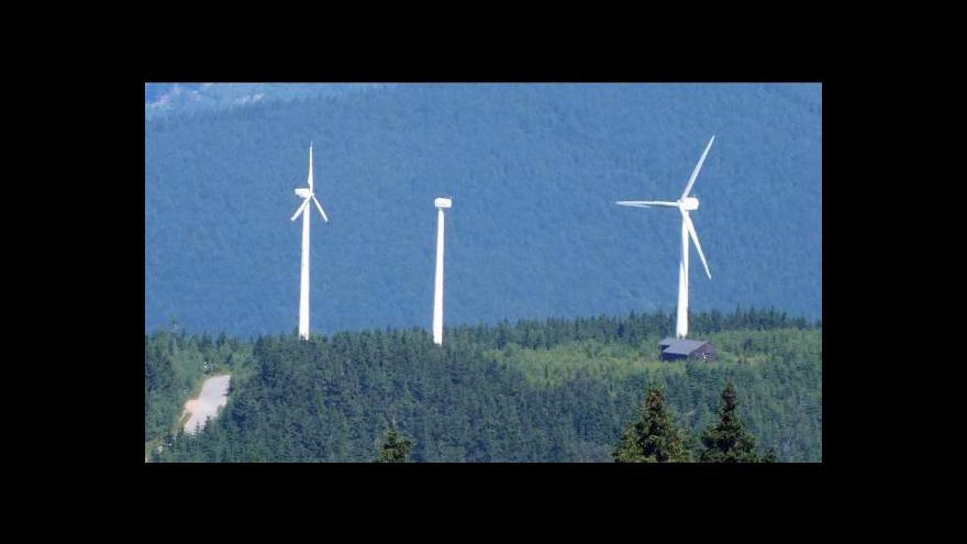 Video Ochranáři bojují proti další větrné elektrárně