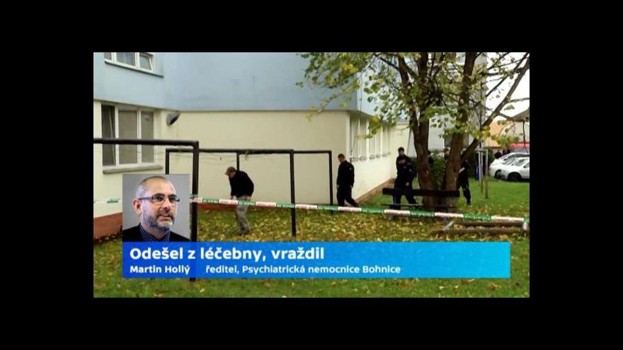 Video Šéf psychiatrické léčebny v Bohnicích k okolnostem případu