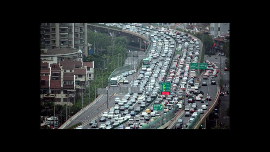 Video Agresivita čínských řidičů roste