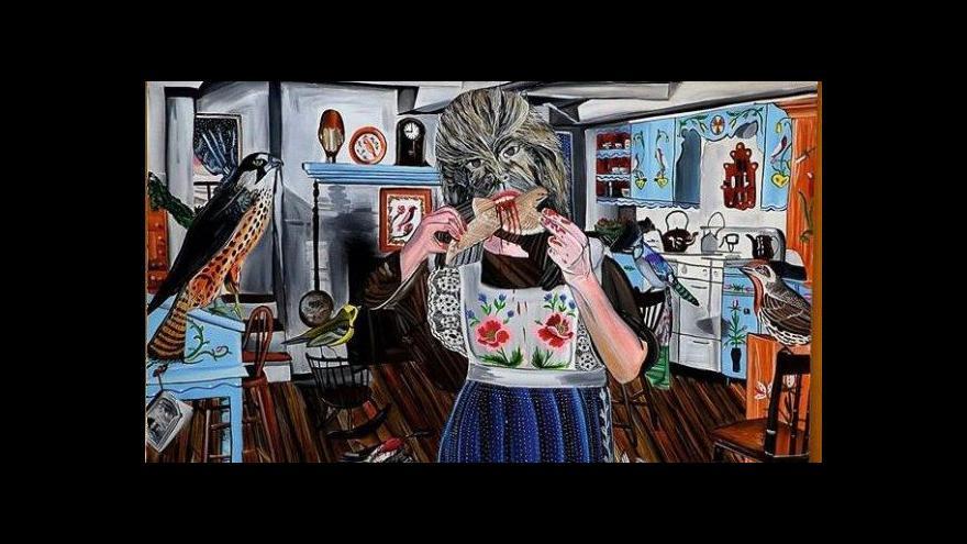 Video Jan Vytiska vystavuje v Industrial Gallery