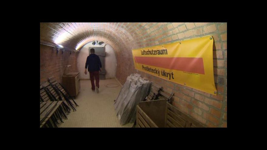 Video Protiatomový kryt pod Špilberkem jako kulturní prostor
