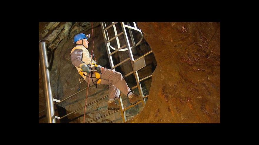 Video Podzemí Sněžky se připravuje na další sezonu