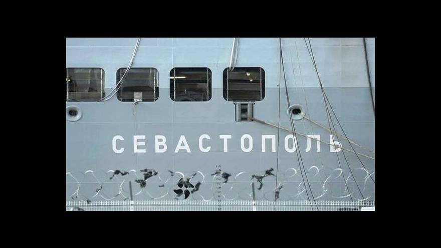 Video UDÁLOSTI: Rusové mistraly nechtějí, postaví si vlastní lodě