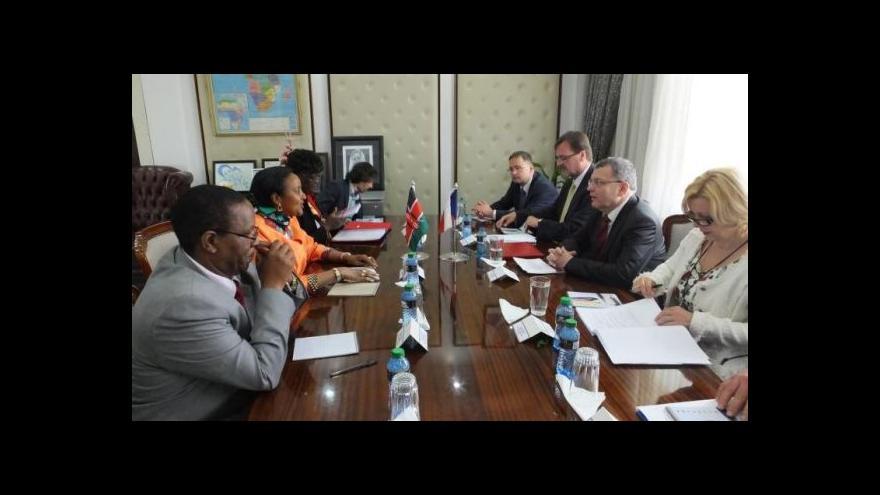 Video UDÁLOSTI: Šéf české diplomacie v Keni