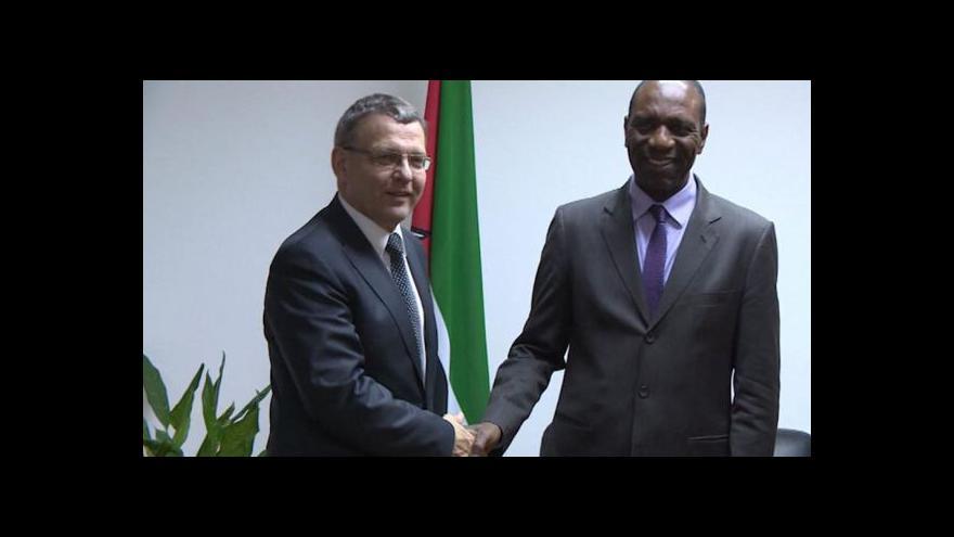 Video Zaorálek na cestě po Africe zavítal do Mosambiku