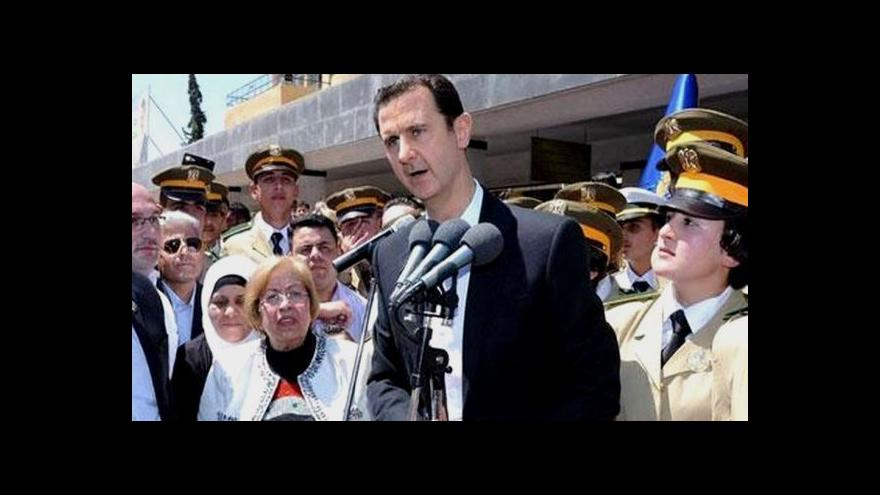 Video Arabista Jan Kužvart: Asadovi postupně docházejí síly