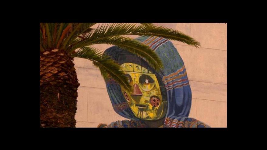 Video Maroko přichází na chuť street artu